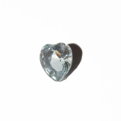 March birthmonth heart - 5mm floating charm fits living memory lockets and keyrings