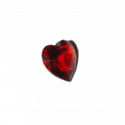 January birthmonth heart - 5mm floating charm fits living memory lockets and keyrings