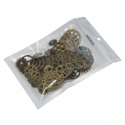 SSEELL 80X Vintage Bronze Watch Parts Steampunk Cyberpunk Cogs Gears DIY Jewellery Making Craft