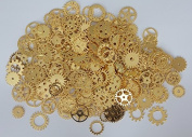 Make It Magical Crafts & Gifts® Steampunk Cyberpunk Watch Parts Vintage Gears Wheels Cogs Gold Silver Bronze Jewellery Making Crafts Art (500g pack, approx 350pcs)