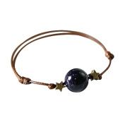 fablcrew Blue Sandstone Bracelet with Hand Rope Fantasy Vintage Sky