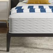 Signature Sleep Contour 25cm Reversible Independently Encased Coil Mattress with CertiPUR-US certified foam, Twin