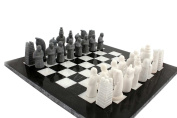 41cm Handmade Original Marble Two Players Full Chess Game Table Sets