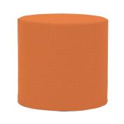Howard Elliott Q851-297 No Tip Cylinder Patio Ottoman, Seascape Canyon