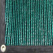 EasyShade 90% Heavy Duty DarkGreen Shade Cloth Taped Edge with Grommets UV