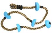 Langxun 2m Climbing Rope With Platforms for Kids Play Yard - Swing Set Accessories
