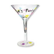 Martini Glass Lets Party
