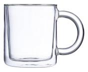 Viva Scandinavia Classic Double Walled Mug, Transparent, 0.25 Litre