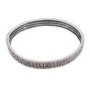 Elastic Stretchy Artificial Crystal Bracelet Bangle Vintage Prom Party Wedding Bridal Jewellery