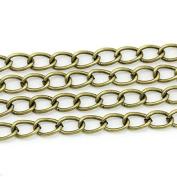 creafirm . 3 m Chain Bronze 8.5x5.5 mm Mesh Curved