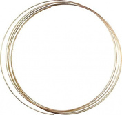 megacrea 'Spiral' Memory Shape Necklace 6 Rings – Gold