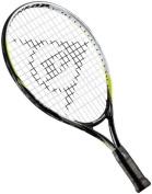 Dunlop Sports Junior M 5.0 Tennis Racquet, 48cm - 10cm Grip - Green/Black/White