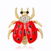 yipinco7285 Fashion Brooch Pin Cartoon Deer/Rhinestone Loving Heart/Santa Claus/Snowflake Christmas Jewellery Accessories