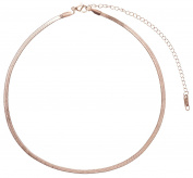 Happiness Boutique Women Choker in Rose Gold   Delicate Chain Necklace Minimalist Design