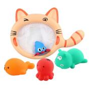 Needra Baby Kids Bathing Toys Wash Play Cartoon Pull Educational Toys