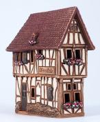 Ceramic house incense burner 'House in Bernkastel-Kues, Germany Midene R255