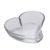 Celebrations by Mikasa Crystal Heart Plate, 14cm