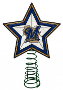 Milwaukee Brewers Christmas Tree Toppers