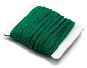 Cousin 34718145 Faux Suede Cord, 2.1m, Green