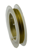 Bronze Tiger Tail Wire 10m Spool - Beading Craft Wire for Bracelets Necklaces