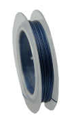 Navy Blue Tiger Tail Wire 10m Spool