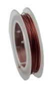 Maroon Tiger Tail Wire 10m Spool