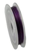 Dark Purple Tiger Tail Wire 10m Spool