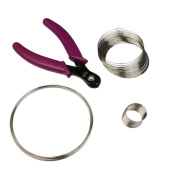 Memory Wire Pack with wire cutters