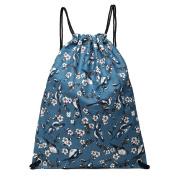 Kono Drawstring Backpack School Swim Gym PE Rucksack Outdoor Sports Shoulder Bags