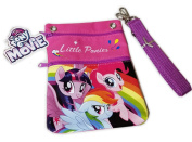 My Little Pony Pouch / Hand Bag Wallet Purse with Shoulder Bag w/ Strap & Extra Pocket on the back