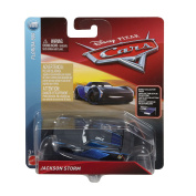 Disney Cars Die Cast Jackson Storm with Accessory Card Toy Vehicle