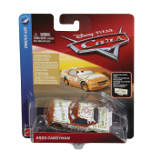 Disney Cars Die Cast Tach O Mint with Accessory Card Toy Vehicle