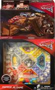Go Cars 3 Midnight Jump Playset Pixar Lightning McQueen & Smokey + Disney Popper Jr. Game Set