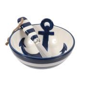 DEI Anchor Dip Bowl & Spreader Set