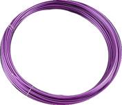 Aluminium Jewellery Wire - 6 m - Diameter 1.5 mm - Purple