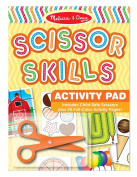 Melissa & Doug Scissor Skills Activity Book With Pair of Child-Safe Scissors
