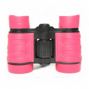 Kids Binoculars Compact Mini Binoculars for Children, Rubber 4x30 Adjustable Lightweight Binoculars Telescope Toy, Children Educational Toys for Bird Watching, Outdoors, Climbing by Mankn