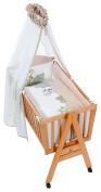 Easy Baby 67 Cradle Set, Brown