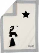Sigikid 48016 Rock Star Blanket 100 x 75