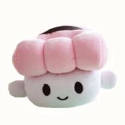 VineCrown Cute Japanese Food Egg Sushi Plush Pillow Cushion Stuffed Soft Toy Doll Decoration Gifts Sleeping Arm Support Cushions