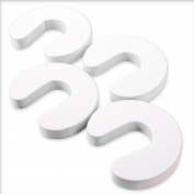 Pack Of 4 Child Safety Foam Door Guards