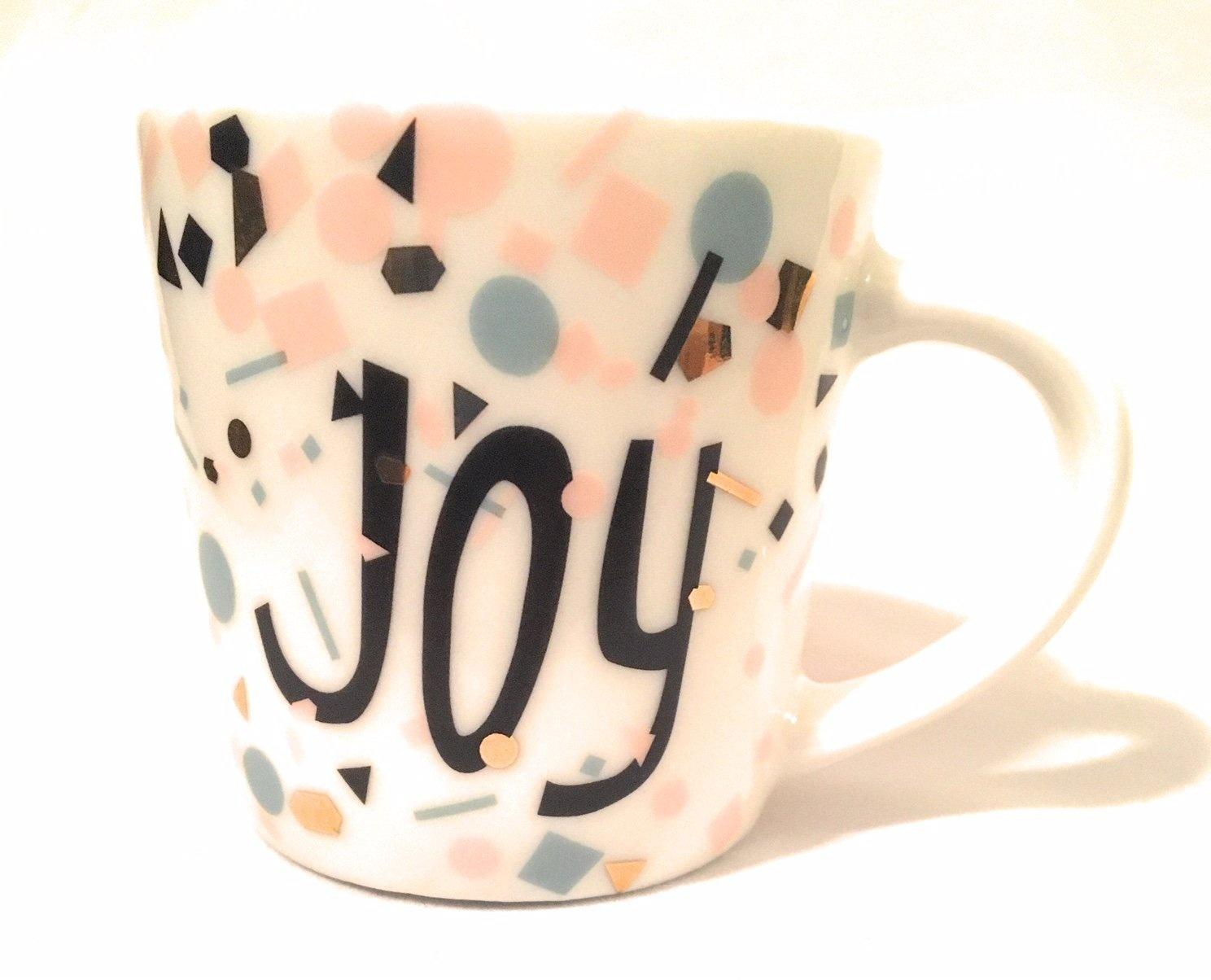 Starbucks 2017 Ceramic Joy Holiday Demi Espresso Cup 90ml