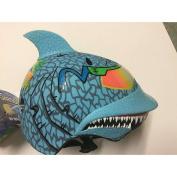 Shark Maxx Blu Children's Helmet with Rubber Top Fin