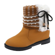 Creazy Women's Boots Winter Boots Warm Ankle Boots Warm Winter Shoes