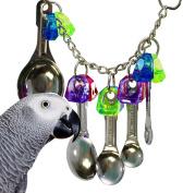 Bonka Bird Toys 1969 Spoon Delight Bird Toy parrot cage toys cages african grey amazon conure