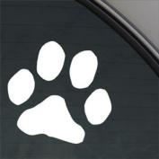 Dog Paw Print Decal Car Truck Bumper Window Sticker