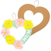 Heart Craft Wreaths For Boys And Girls' Arts, Crafts And Decorating For Kids