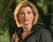 LIMITED EDITION JODIE WHITTAKER DR WHO SIGNED PHOTOGRAPH + CERT PRINTED AUTOGRAPH