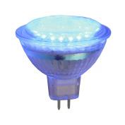 Pro-Lite 2w Blue MR16 LED cluster spot light bulb