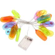 MagiDeal 3m String Light Summer Outdoor Decor Home Garden Lighting Fans String Lights